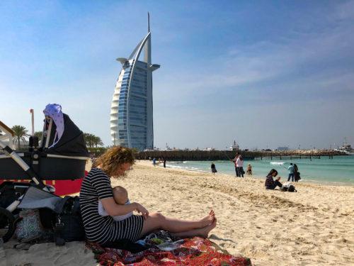 Naar Dubai (met een baby)