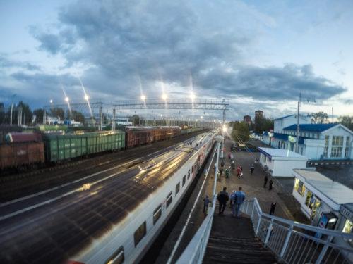 De Trans Mongolië Express: Rusland