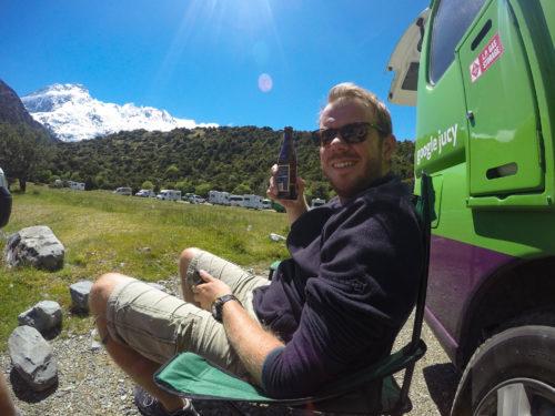 Nieuw-Zeeland: (Wild)kamperen met een camper