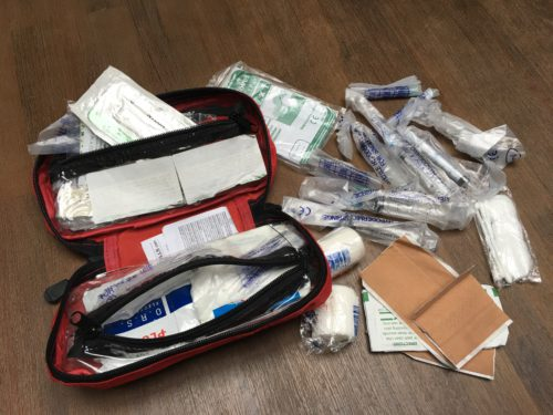 Medicijnen tijdens het backpacken