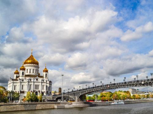 Moskou en het Kremlin