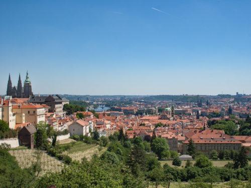 Het mooiste uitzicht over Praag