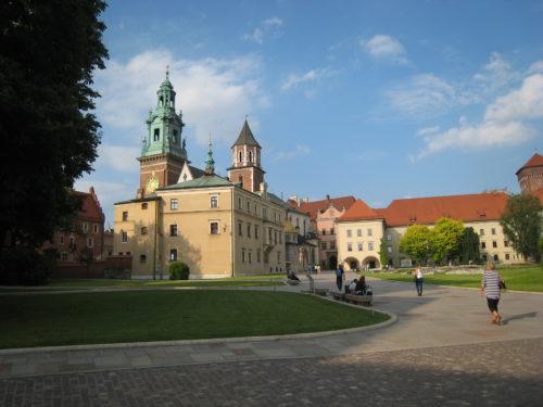 Krakau bezienswaardigheden: Wawel kasteel