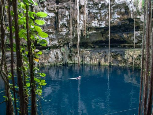 Doen in Mexico: Zwemmen in cenotes