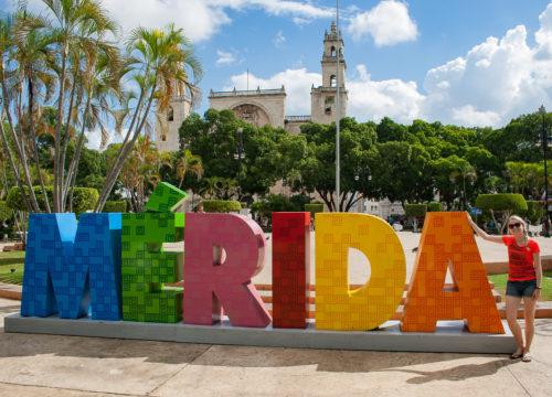 Mérida, op doorreis naar het zuiden