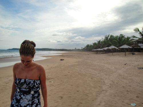 Hier aan de kust, de Ghanese kust