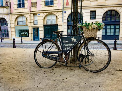 Fietsend door Parijs