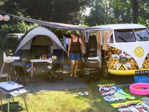 Een kampeertrip plannen met een baby en peuter