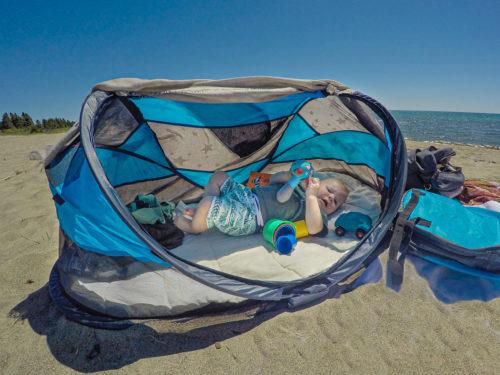 De ideale slaapplek voor je kroost: Een Travel-Cot